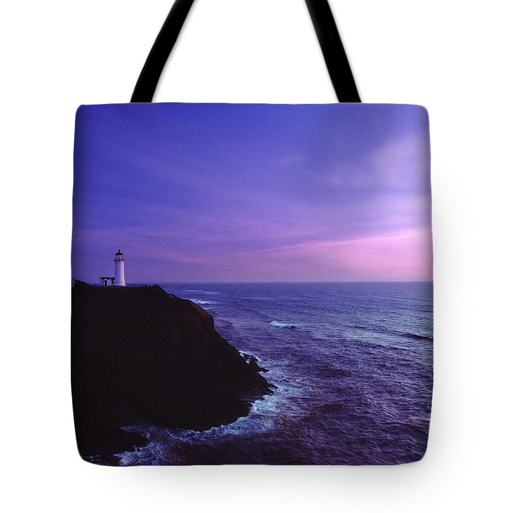 Digital Art Tote Bag featuring the photograph North Head Lighthouse by Earl Johnson