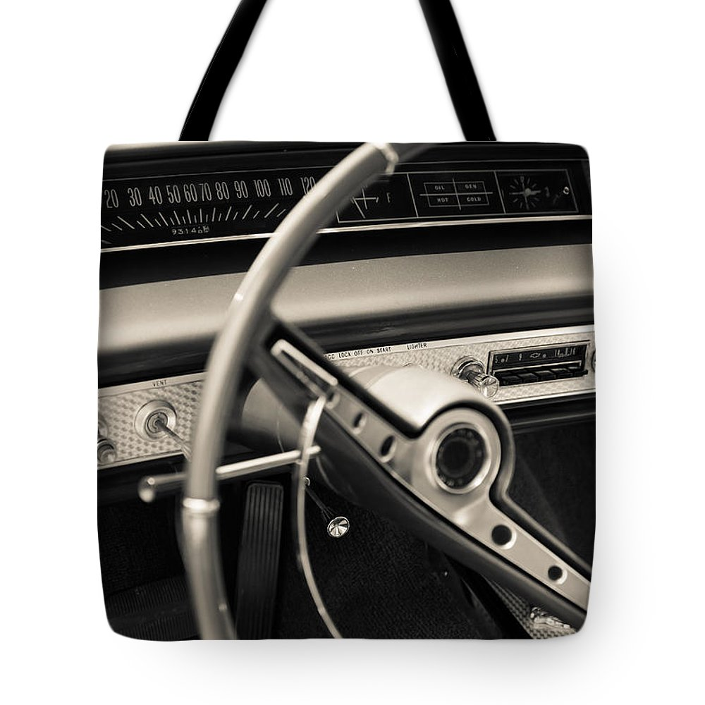 Dashboard Tote Bag featuring the photograph Nostalgy by Alexey Stiop