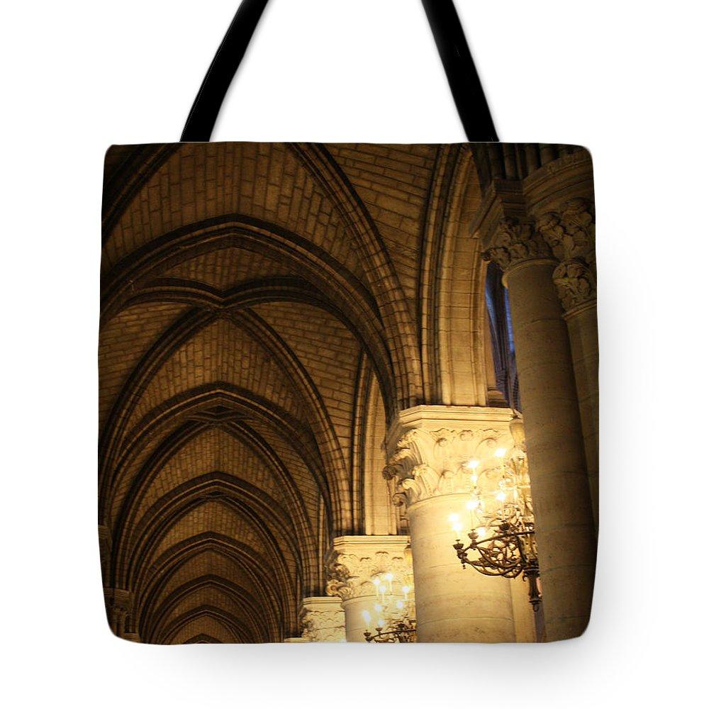 Notre Dame Tote Bag featuring the photograph Notre Dame Paris France 2 by Bridget Brummel
