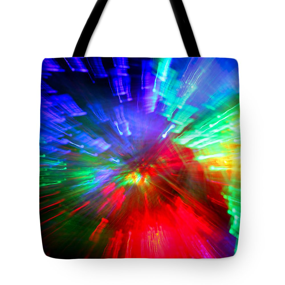 Abstract Tote Bag featuring the photograph Nova Baby by Dazzle Zazz