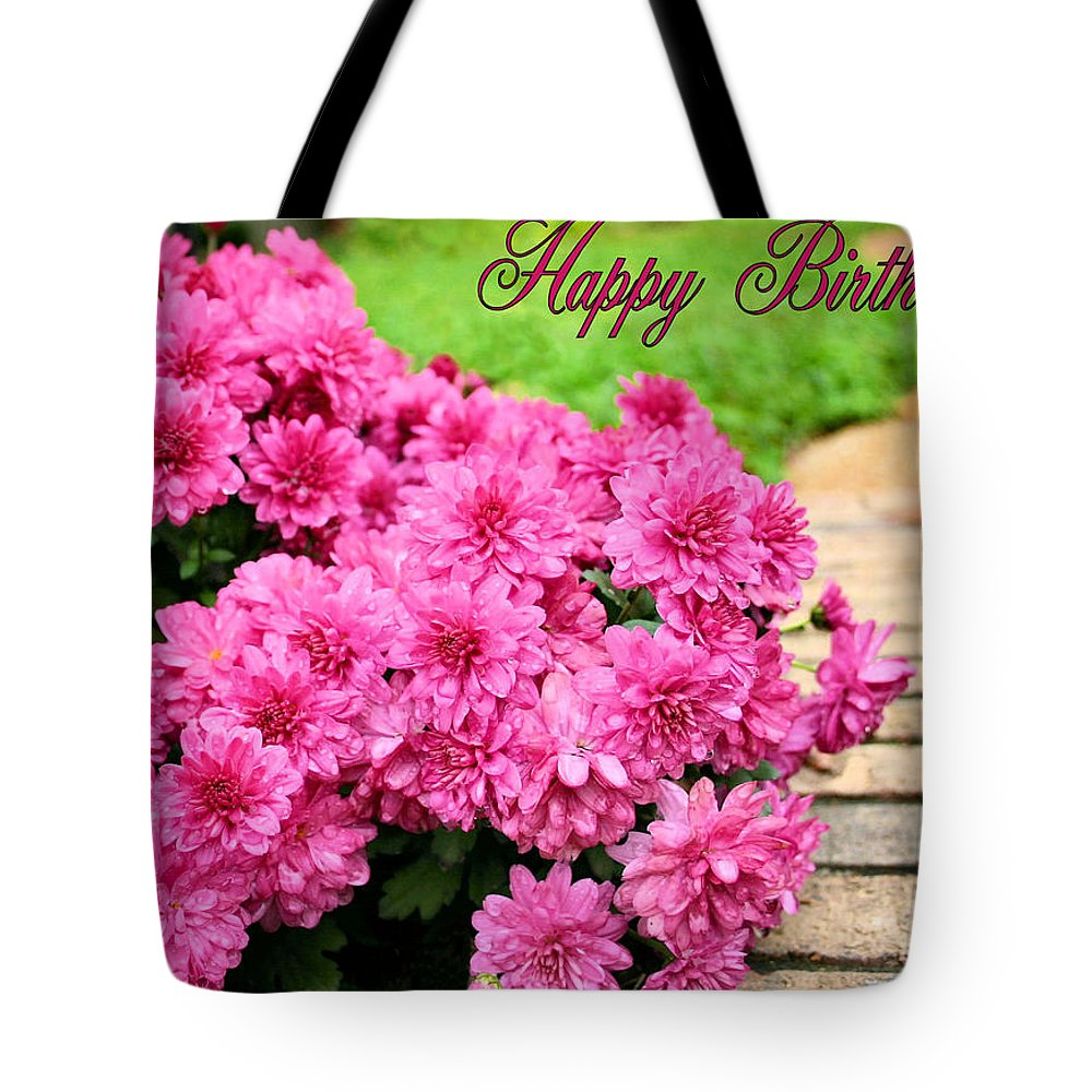 Happy Birthday Tote Bag featuring the photograph November Birthday by Kristin Elmquist