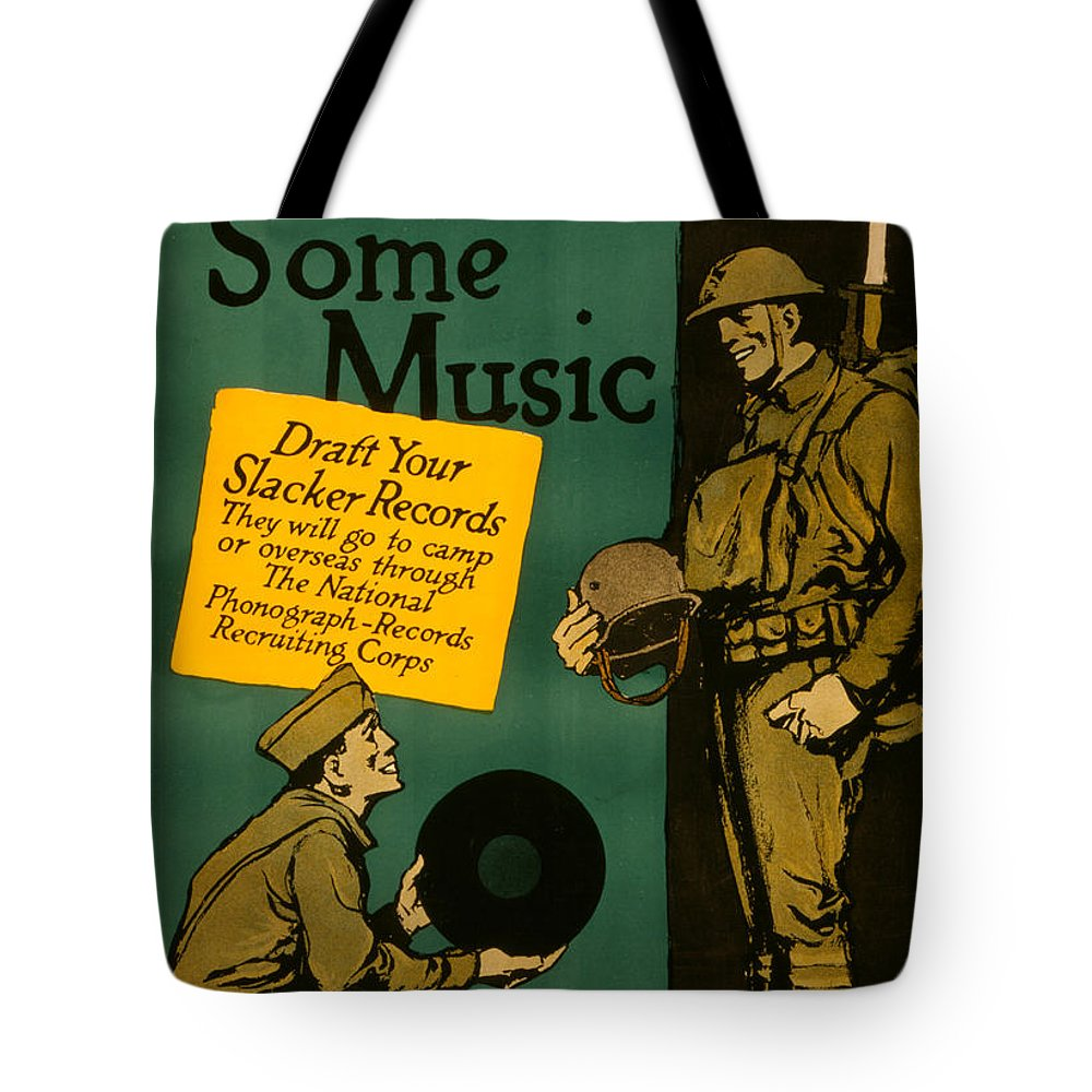 Now For Some Music Tote Bag featuring the photograph Now For Some Music by Bill Cannon