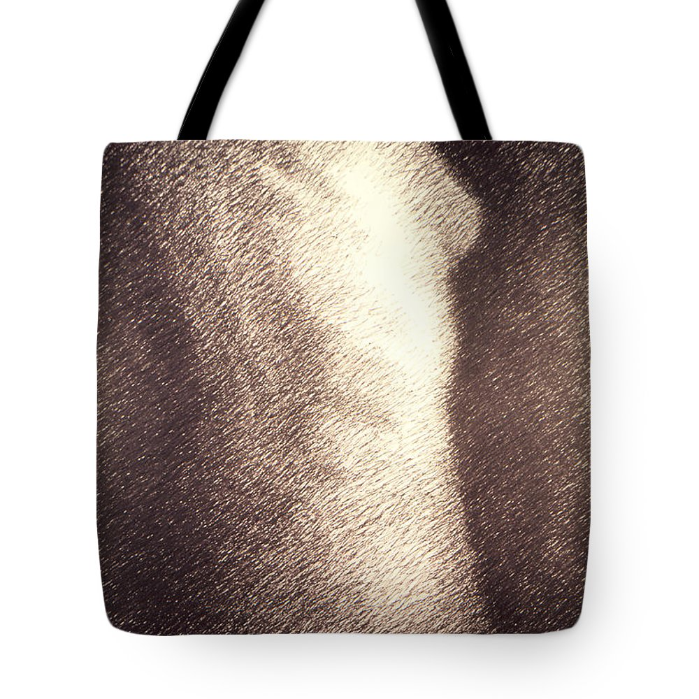Sketches Tote Bag featuring the drawing Nude Female Torso Drawings 4 by Gordon Punt