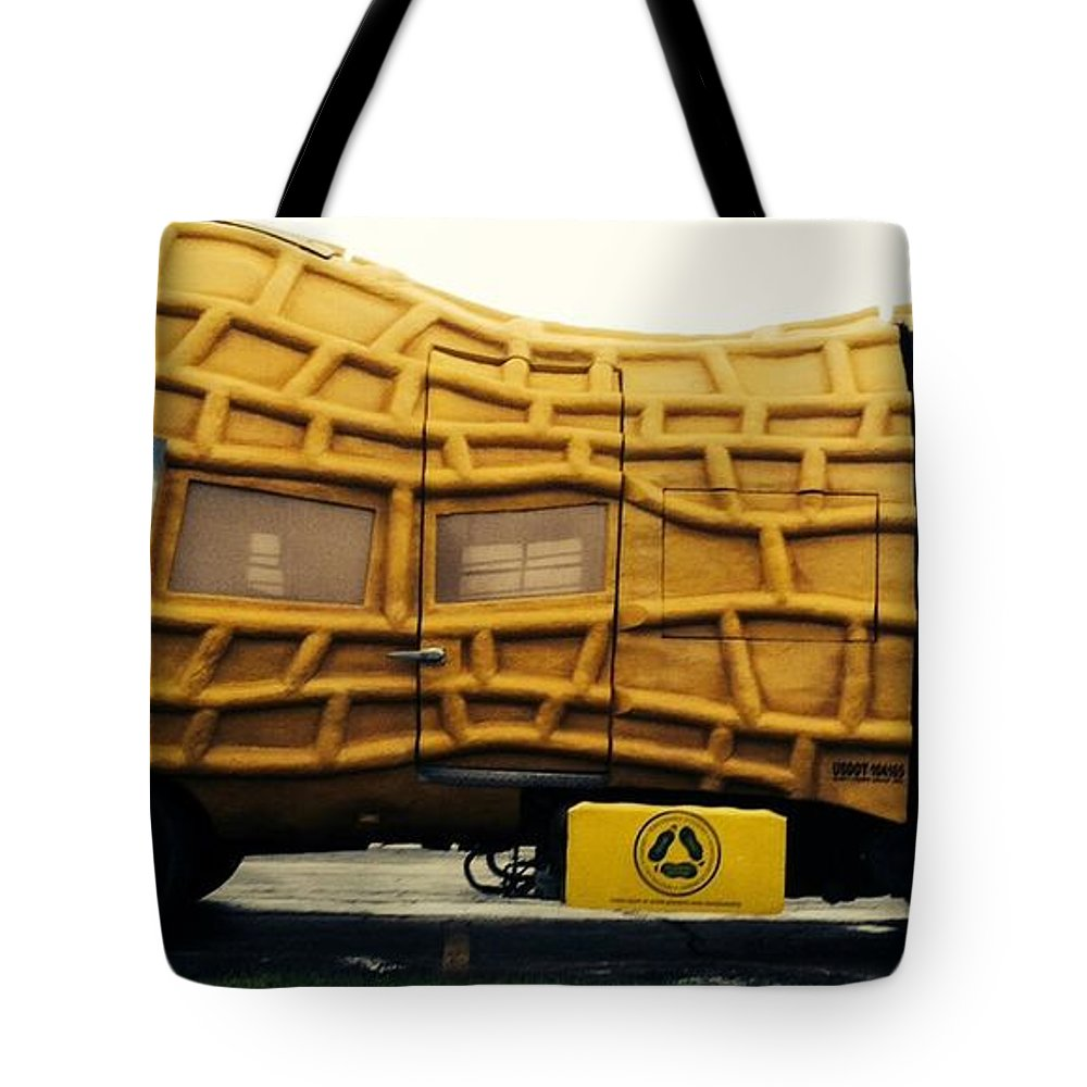 Nut Mobile Tote Bag featuring the photograph Nutmobile by Michael Krek