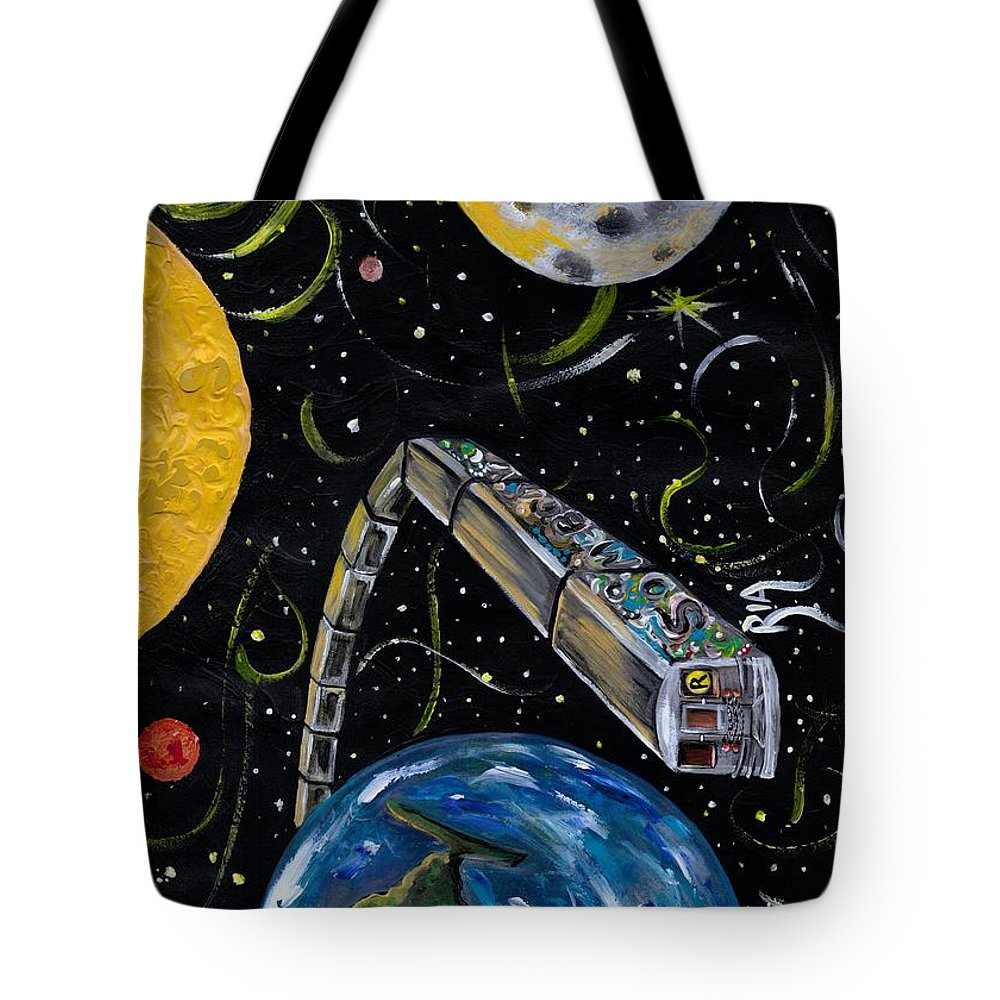 Beautiful Tote Bag featuring the photograph Ny State Of Mind by Artist RiA