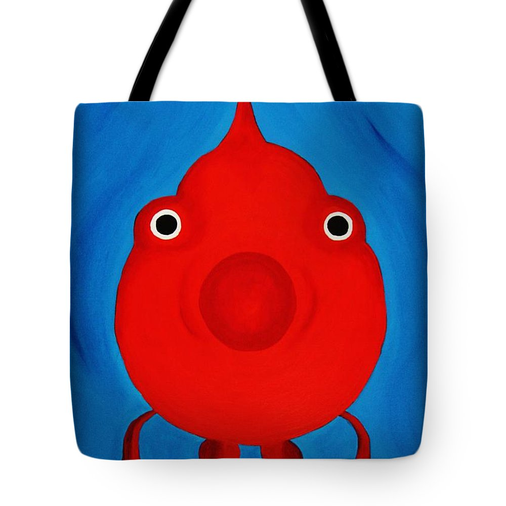 Fish Tote Bag featuring the painting O Fish by Janell R Colburn