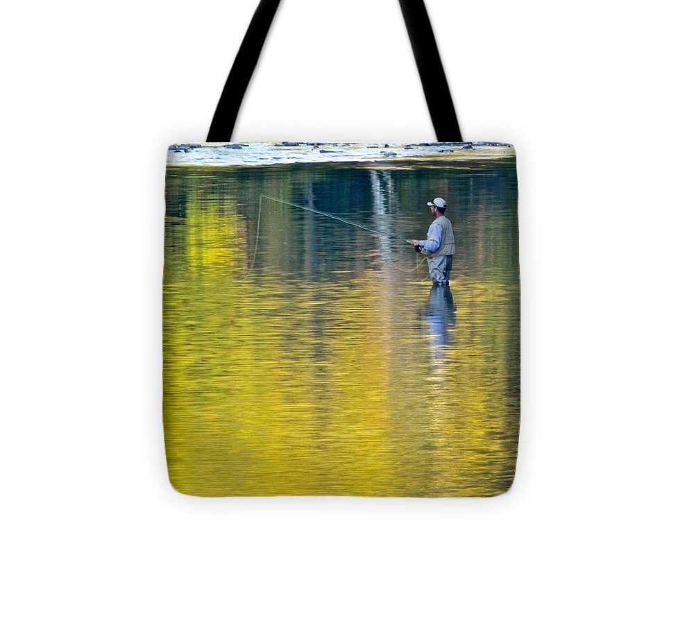 Oasis Tote Bag featuring the photograph Oasis by Frozen in Time Fine Art Photography