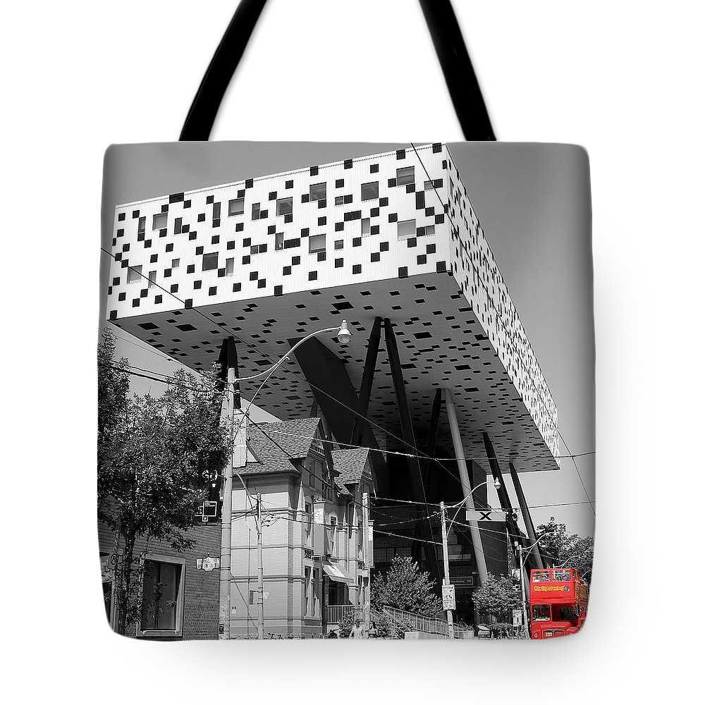 Toronto Tote Bag featuring the photograph Ocad 2 by Andrew Fare