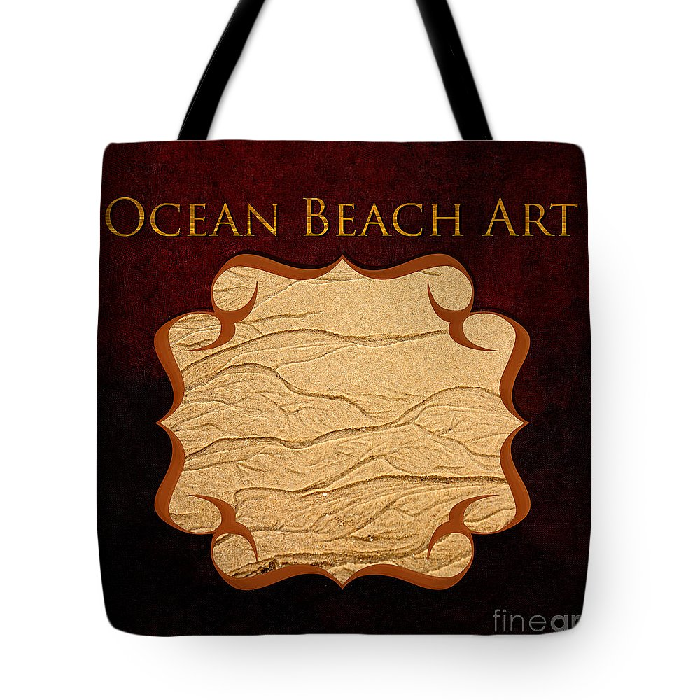 Iris Holzer Richardson Tote Bag featuring the photograph Ocean Beach Art Gallery by Iris Richardson
