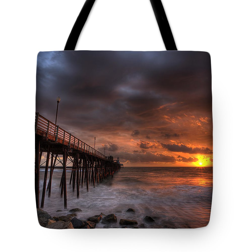 Rocky Coast Tote Bags