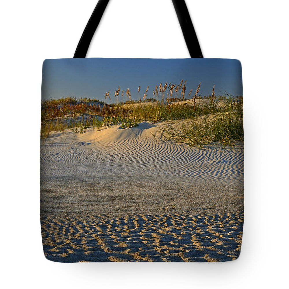Ocracoke Island Tote Bag featuring the photograph Ocracoke Dunes by Eric Albright