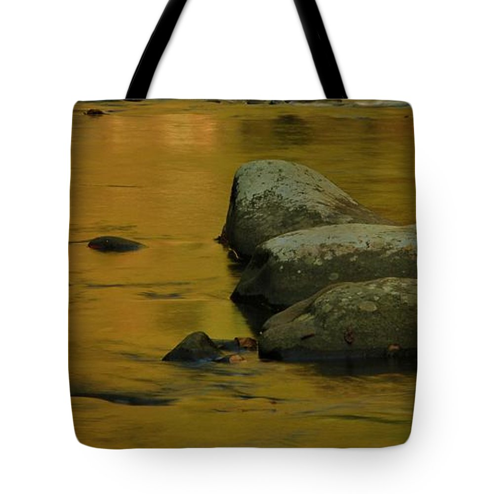 October Colors In Tennessee Tote Bag featuring the photograph October Colors In Tennessee by Dan Sproul