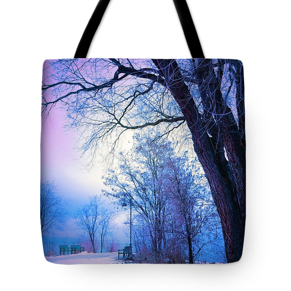Tree Tote Bag featuring the photograph Of Dreams And Winter by Tara Turner