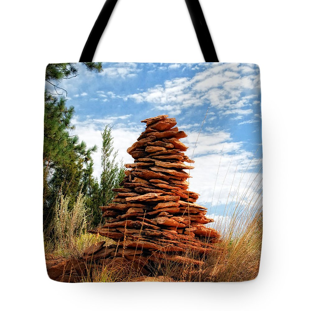Sherry Day Tote Bag featuring the photograph Off The Beaten Path by Ghostwinds Photography