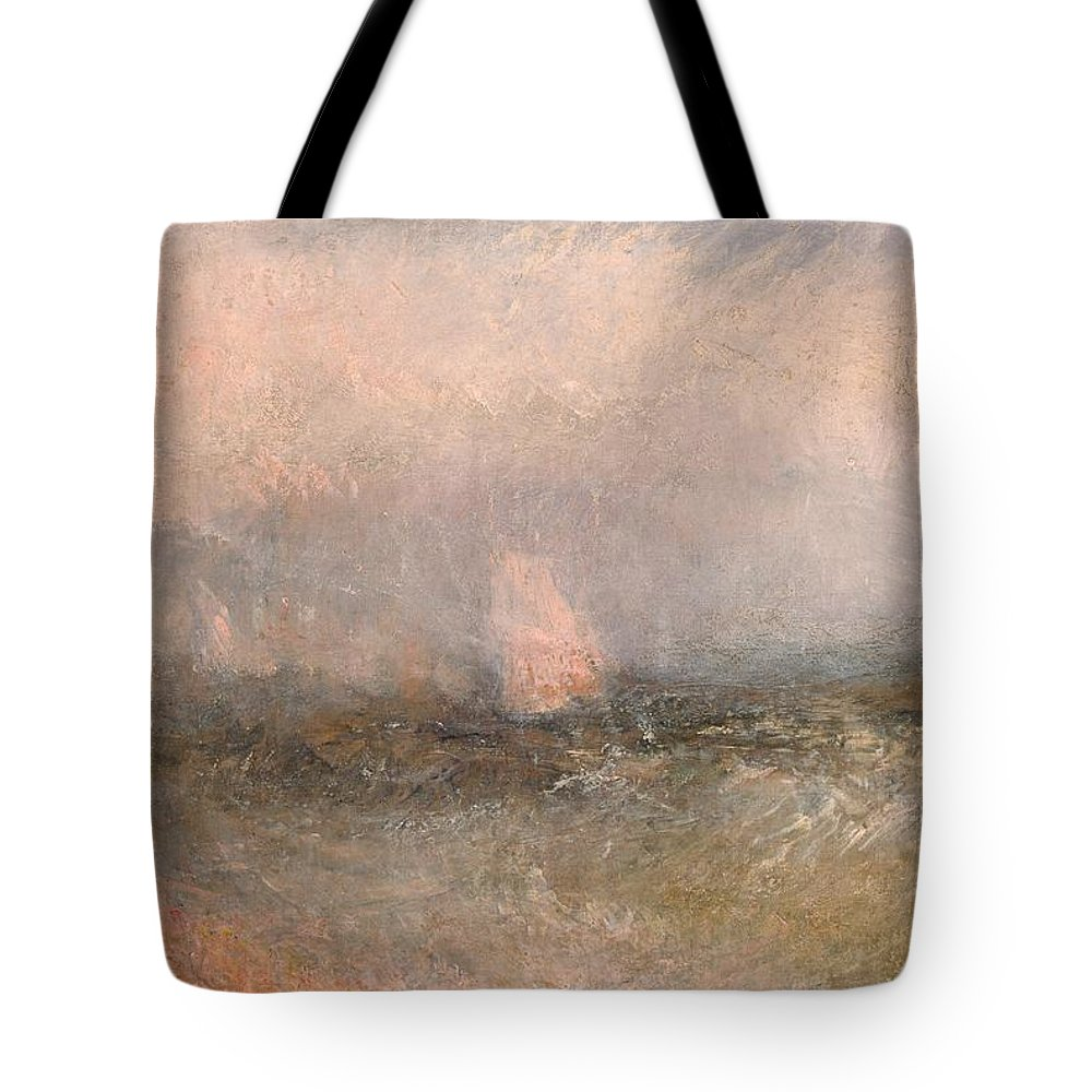 1840 Tote Bag featuring the painting Off The Nore by JMW Turner