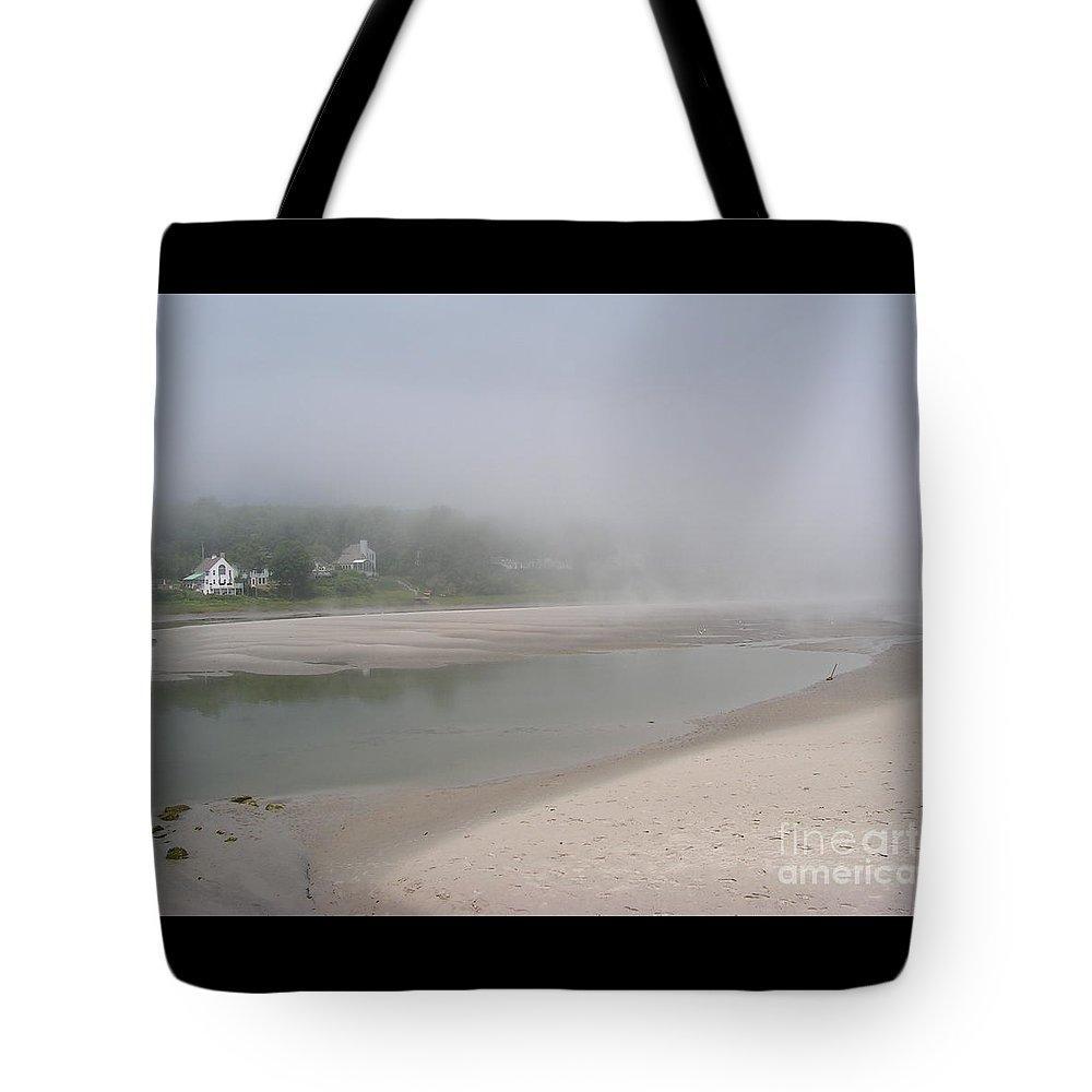 Landscape Tote Bag featuring the photograph Ogunquit River Maine by Joy Bradley