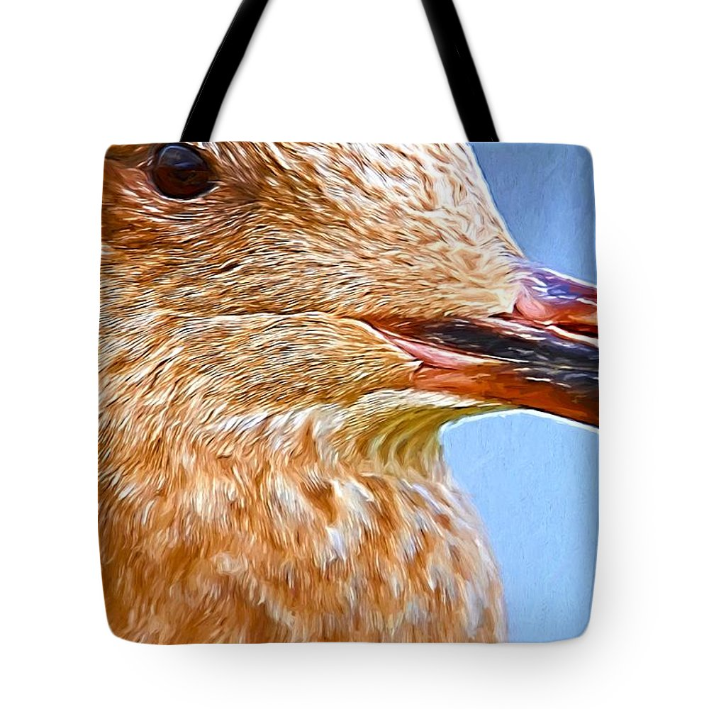Seagull Tote Bag featuring the photograph Oh So Close by Alice Gipson