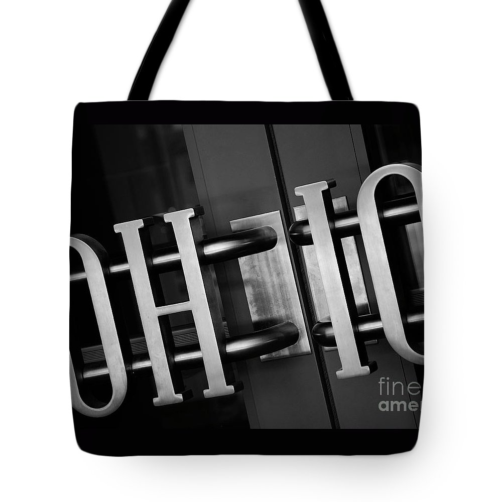Ohio State University Tote Bag featuring the photograph Ohio Union by Rachel Barrett
