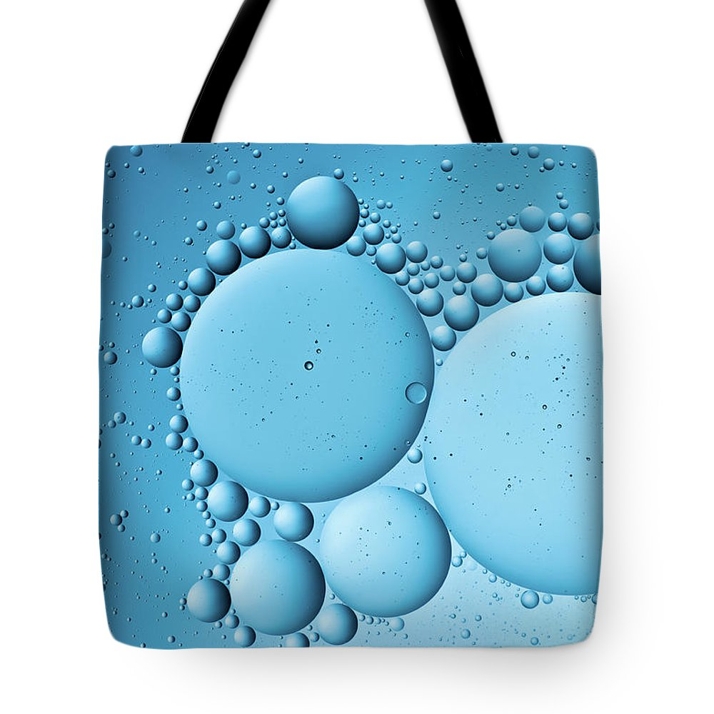 Color Image Tote Bag featuring the photograph Oil In Water by Daitozen