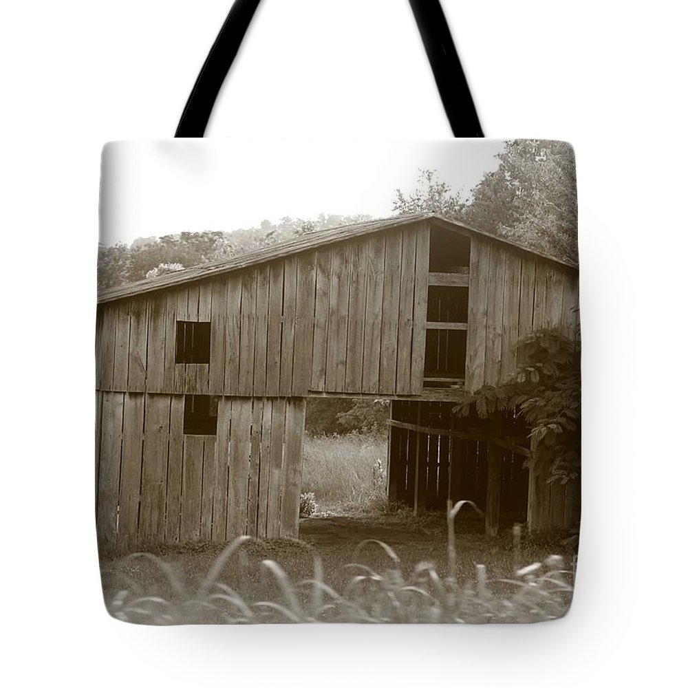 Old Barn Tote Bag featuring the photograph Old Barn 3 by Dwight Cook