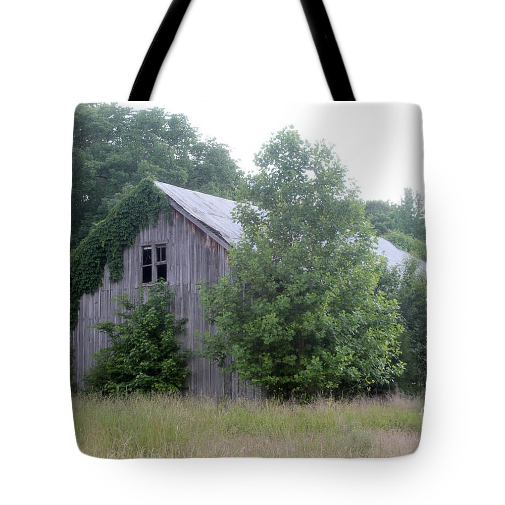 Old Barn Tote Bag featuring the photograph Barn In Kentucky No 82 by Dwight Cook