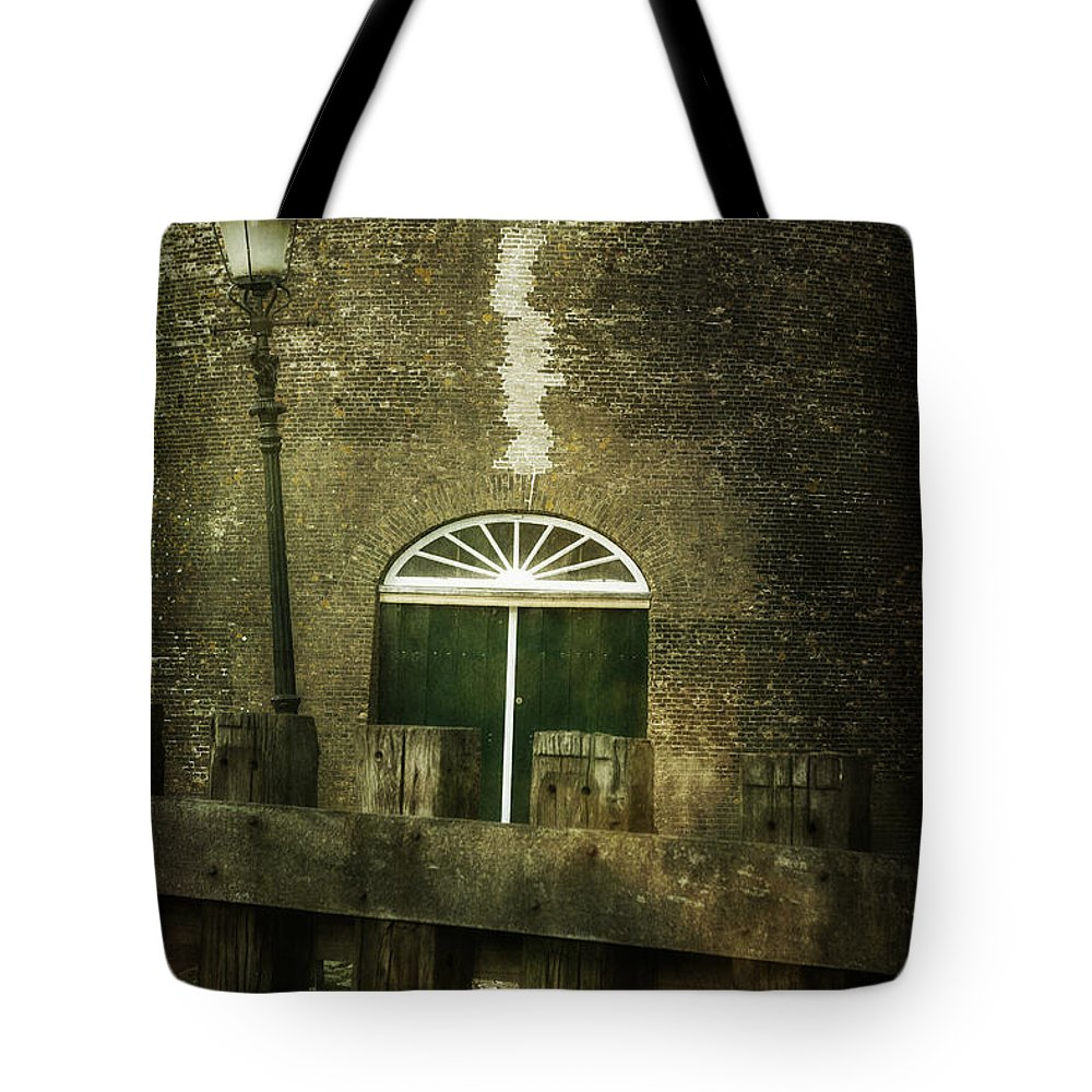 Old Tote Bag featuring the photograph Old Building by Joana Kruse