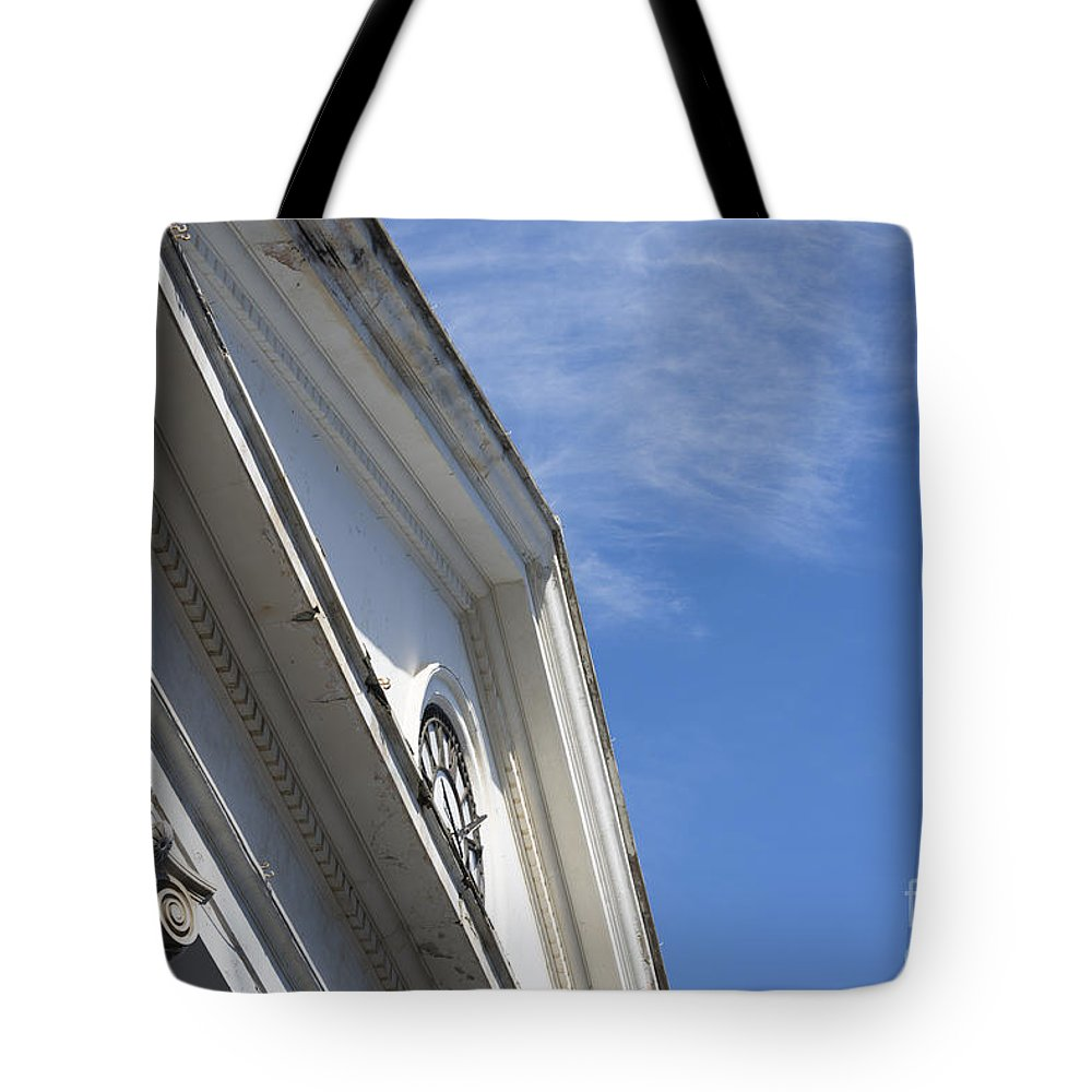 Building Tote Bag featuring the photograph Old Building by Mats Silvan