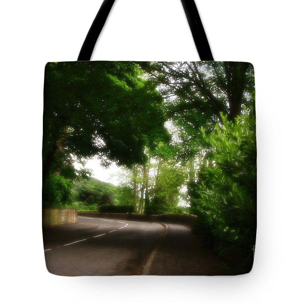 Garden Tote Bag featuring the photograph Old Country Road - Peak District - England by Doc Braham