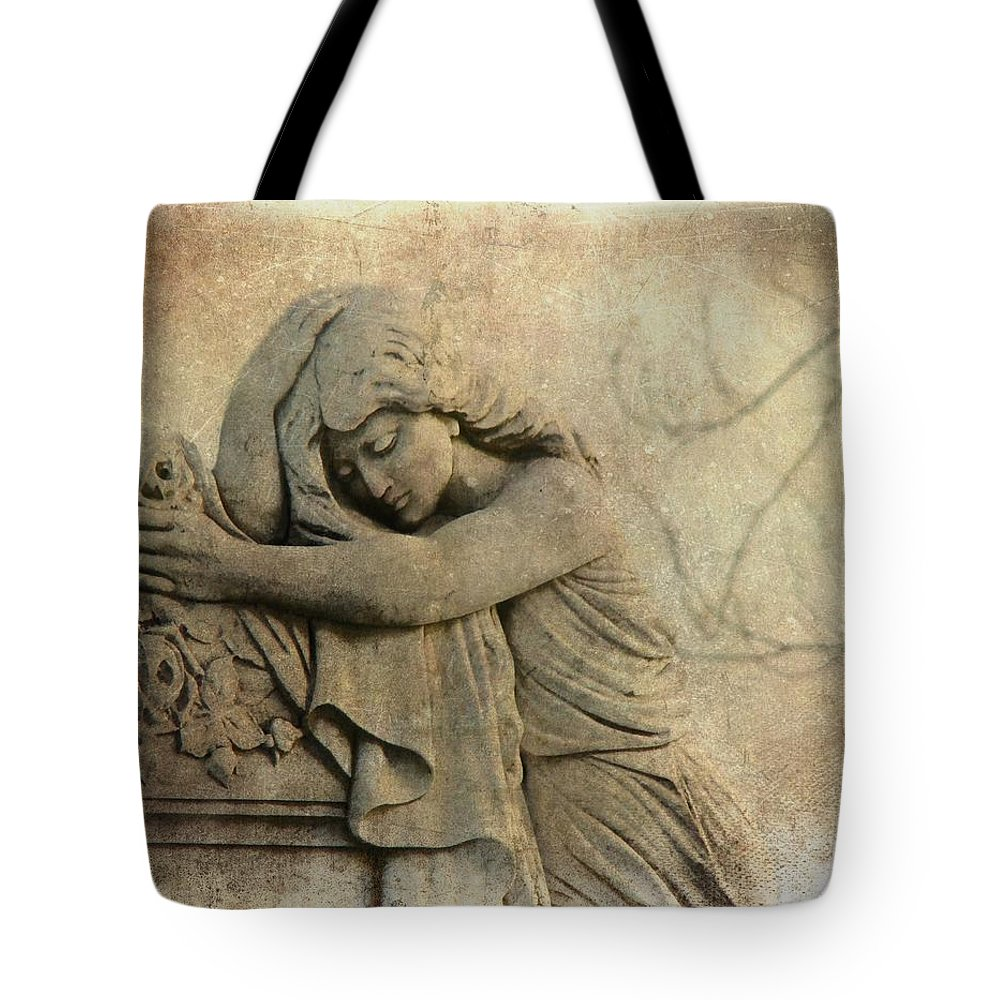 Aged Art Tote Bag featuring the photograph Old Dream by Gothicrow Images