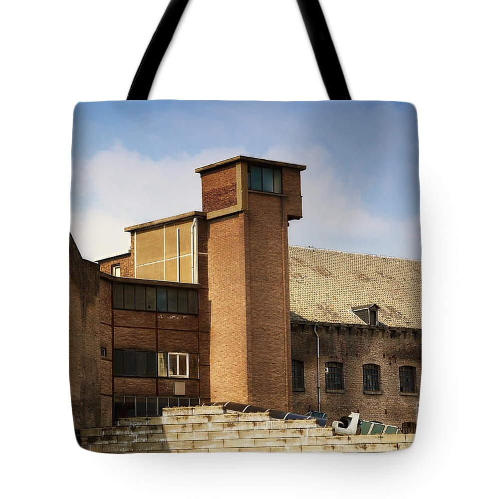 Old Tote Bag featuring the photograph Old Factory by Nick Biemans