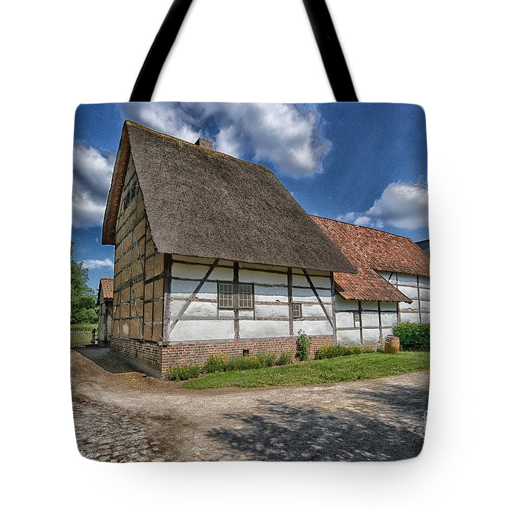 Old Belgian Farm Tote Bag featuring the photograph Old Farm by Brothers Beerens