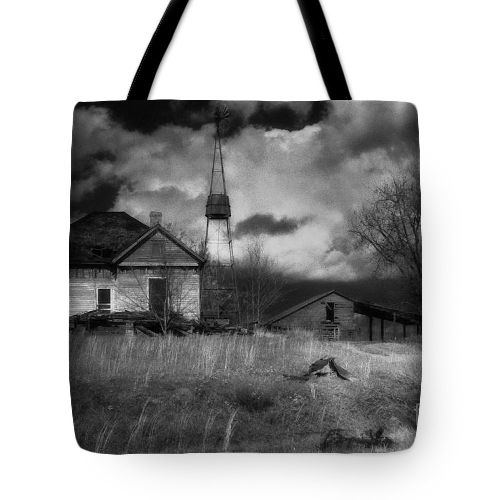 Farms Tote Bag featuring the photograph Old Georgia Farm by Richard Rizzo