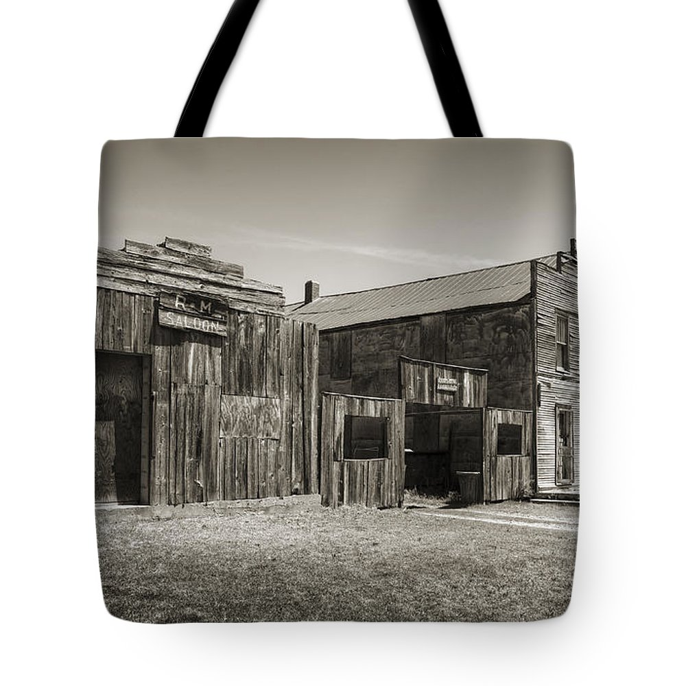 Ingalls Tote Bag featuring the photograph Old Ingalls II by Ricky Barnard