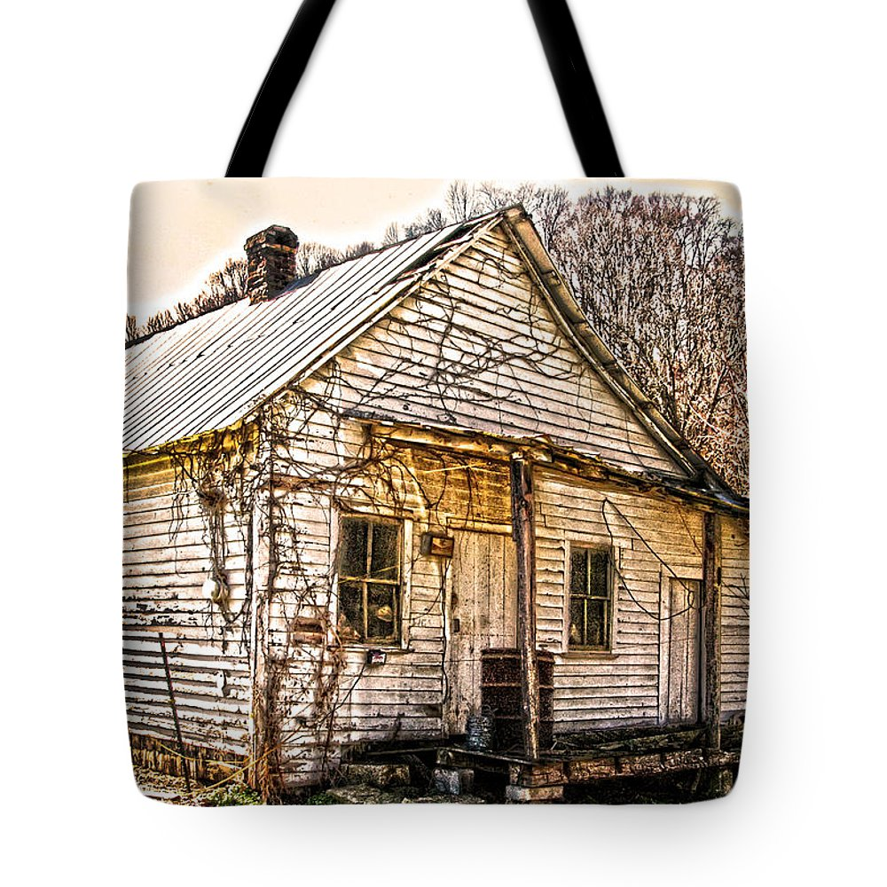 Old Store Tote Bag featuring the photograph Old Kentucky Store Long Gone by Randall Branham