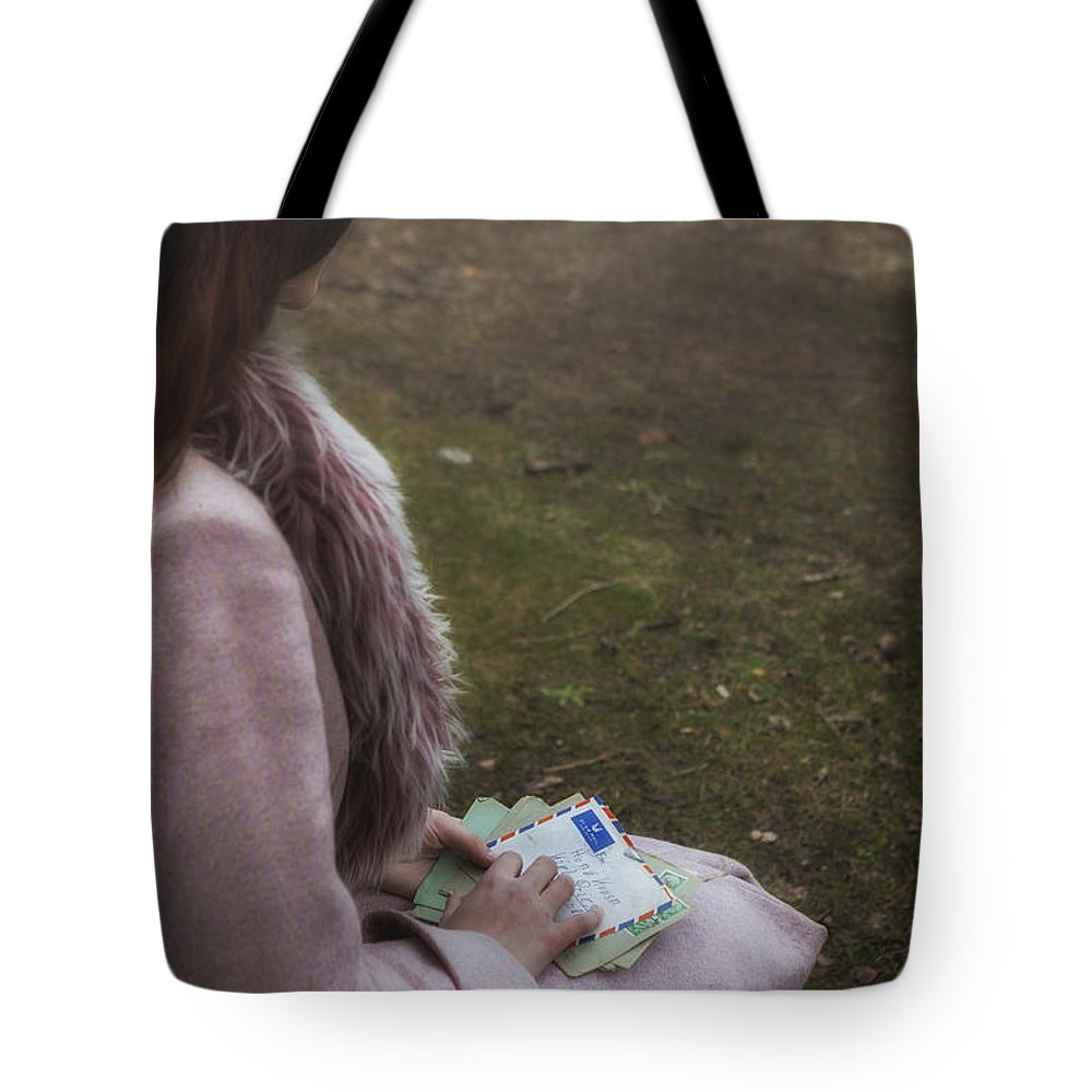 Girl Tote Bag featuring the photograph Old Letters by Joana Kruse