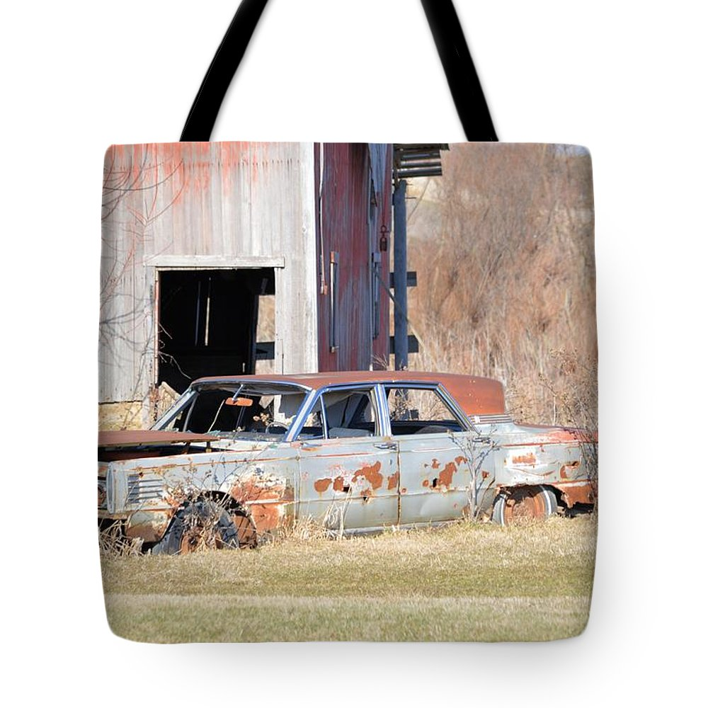 Car Tote Bag featuring the photograph Old Luxury by Bonfire Photography