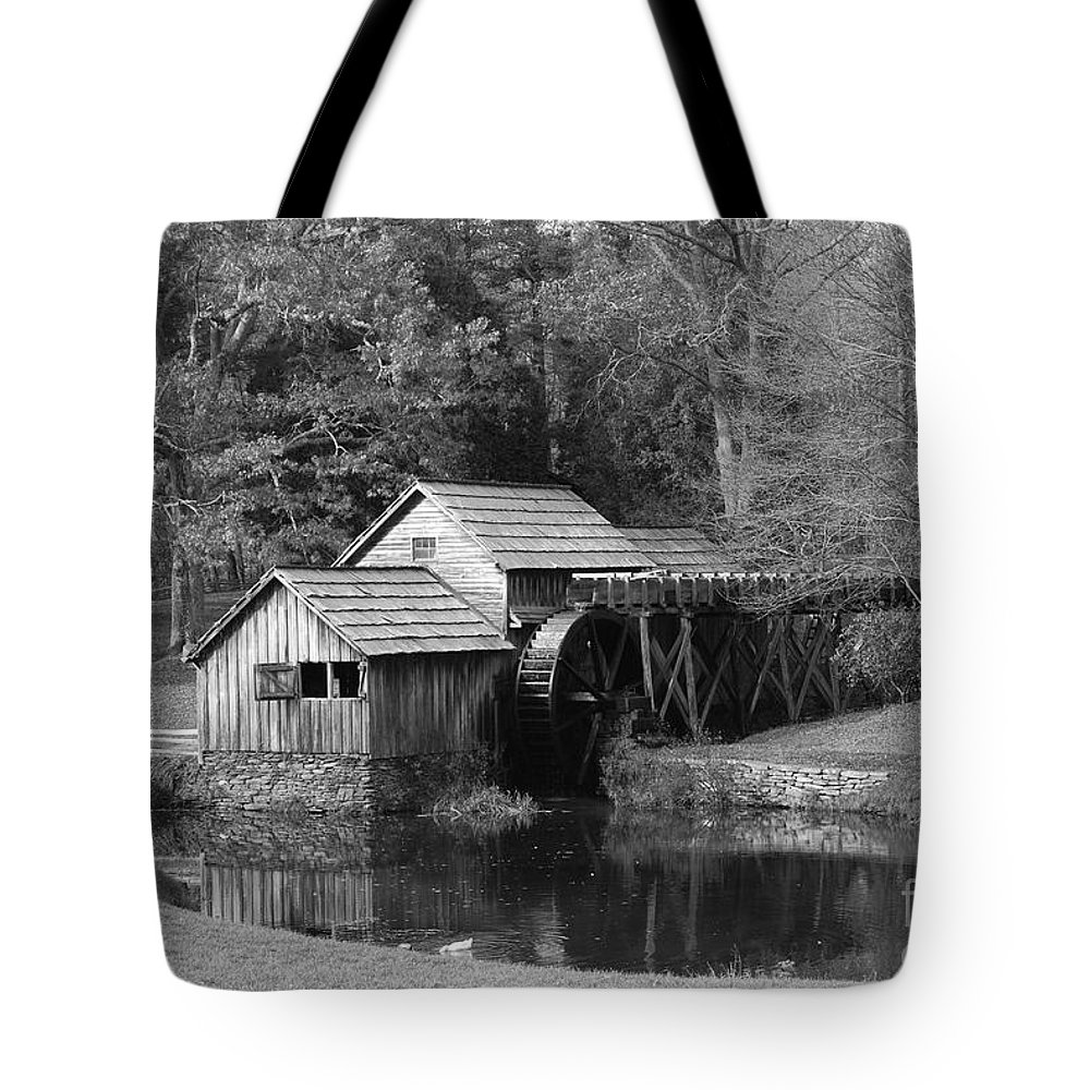 Virginia Tote Bag featuring the photograph Virginia's Old Mill by Eric Liller