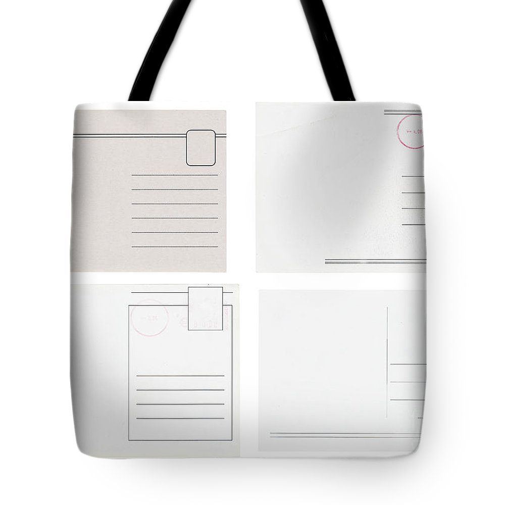 Address Tote Bag featuring the photograph Old Postcards by Tim Hester