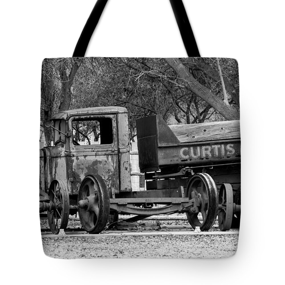 Old Rusty Coal Delivery Truck Tote Bag for Sale by Gary Whitton