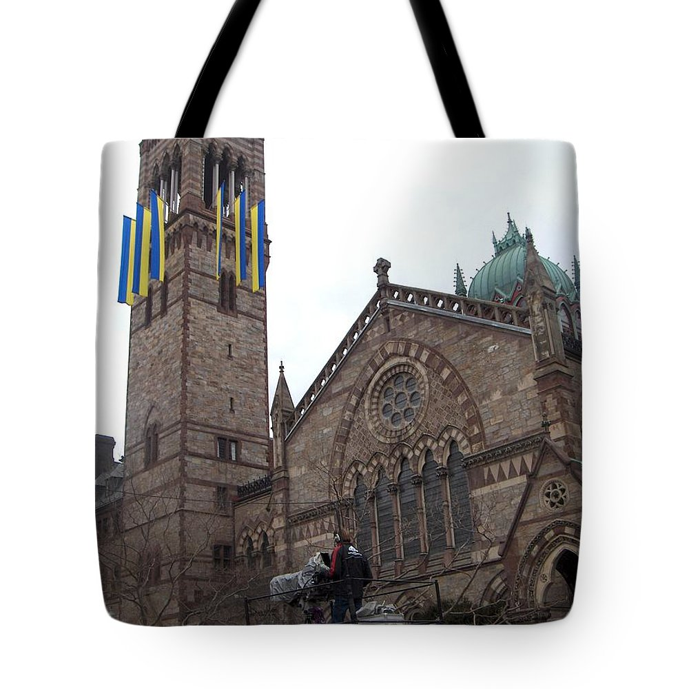 Old South Church Tote Bag featuring the photograph Old South Church by Marcello Cicchini