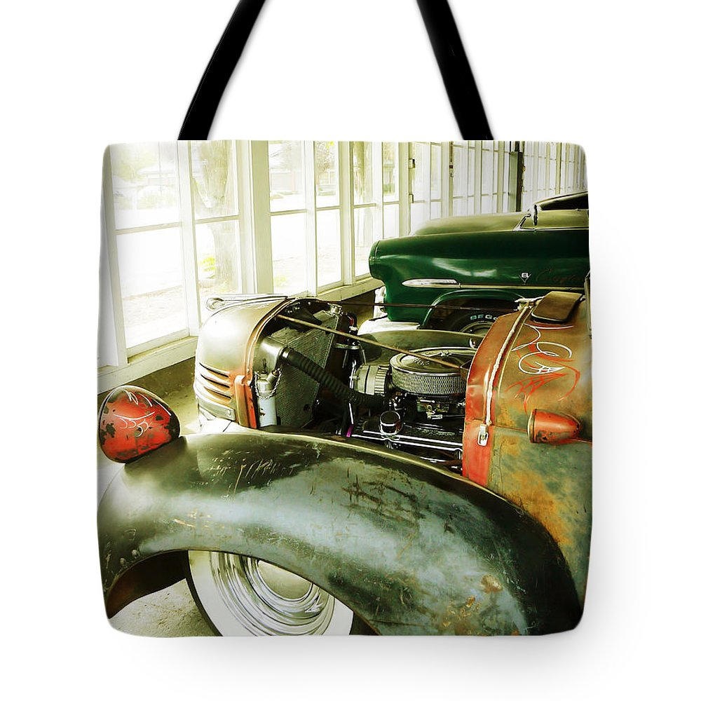 Classic Tote Bag featuring the photograph Old Timers by Pamela Patch