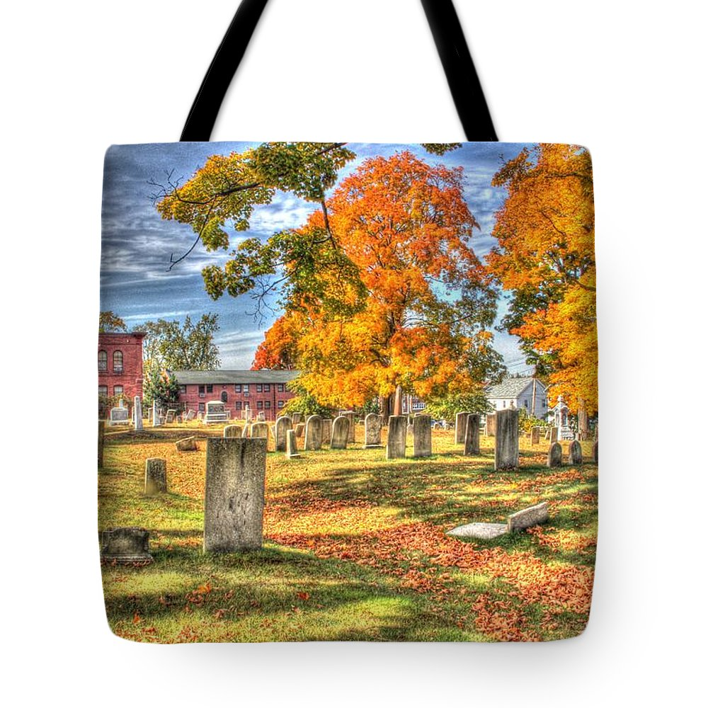 Hdr Photography Tote Bag featuring the photograph Old Valentine School by Ralph Jasinski