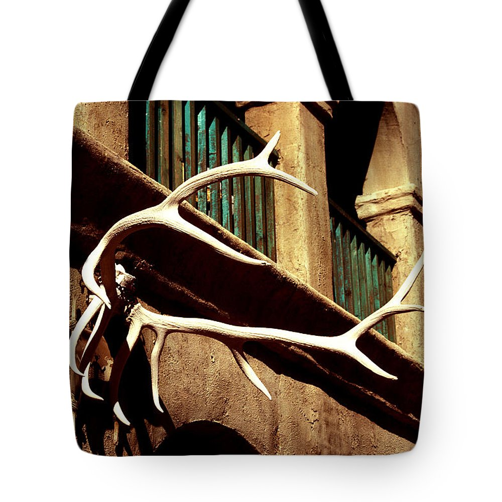 Arizona Tote Bag featuring the photograph Old West Trimmings by Paul W Faust - Impressions of Light