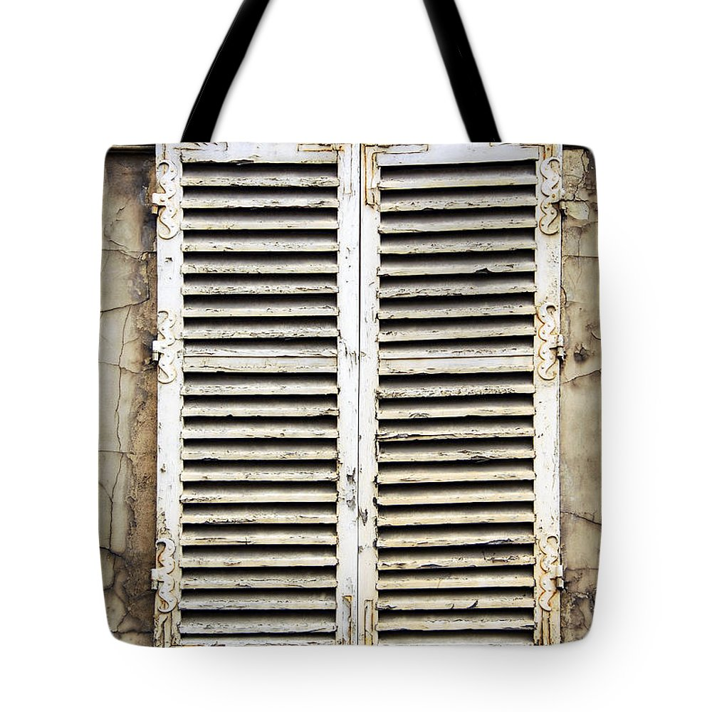 Window Tote Bag featuring the photograph Old Window by Elena Elisseeva