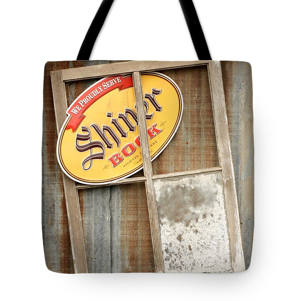 Window Tote Bag featuring the photograph Old Window by Terry Fleckney