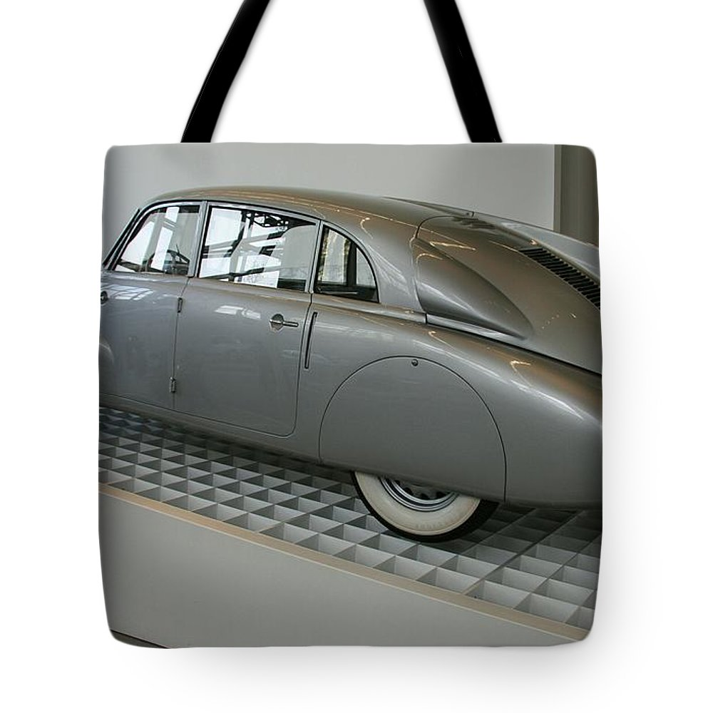 Oldtimer Tote Bag featuring the photograph Oldtimer Tatra T87 by Christiane Schulze Art And Photography