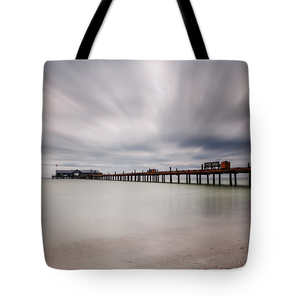 Usa Tote Bag featuring the photograph On A Stormy Day by Claudia Domenig