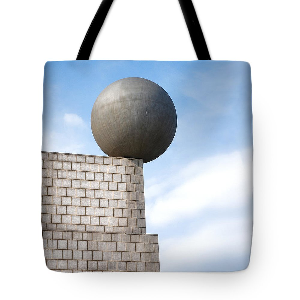 Barcelona Tote Bag featuring the digital art On Edge by Anita Hubbard