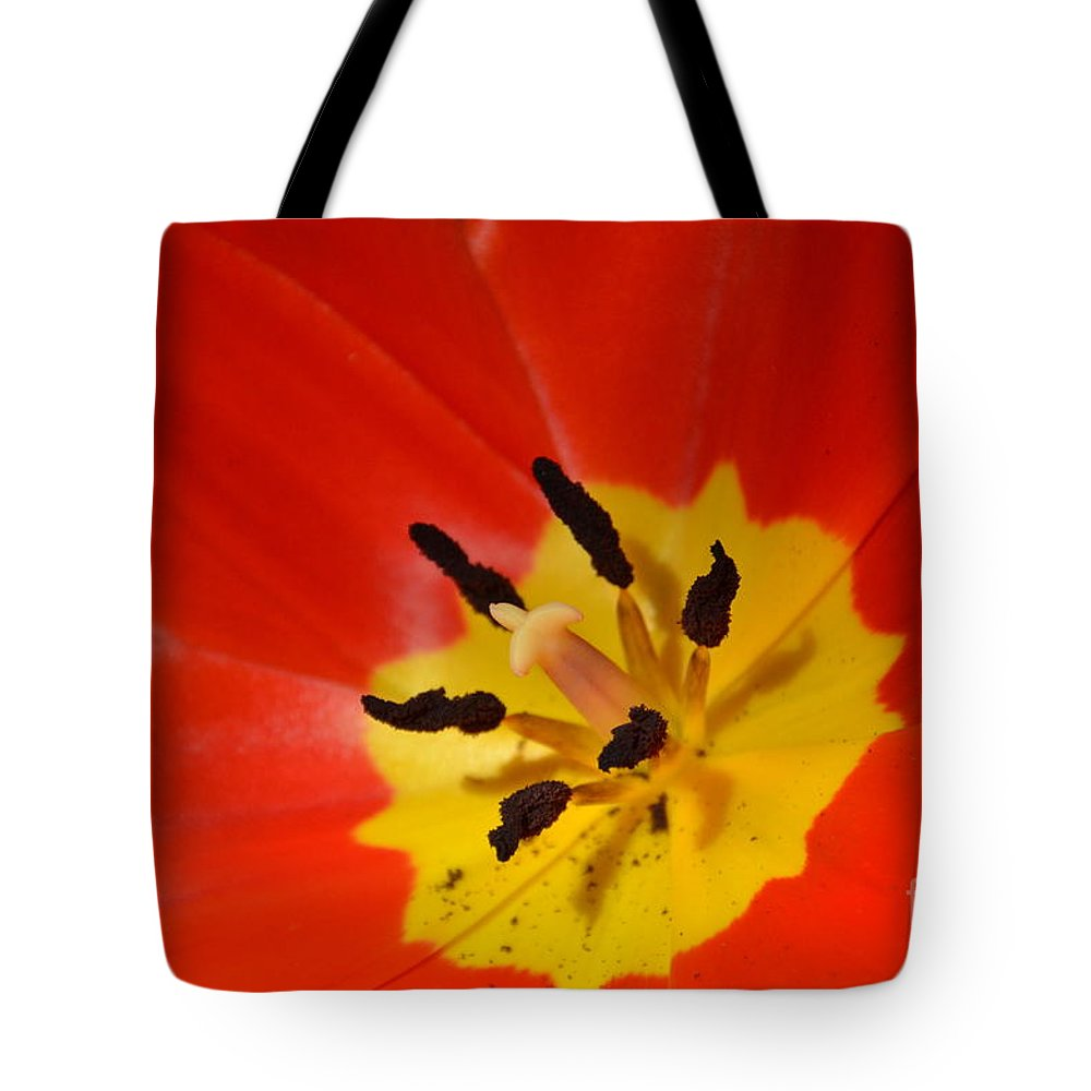 Nature Tote Bag featuring the photograph On Fire by Randy J Heath