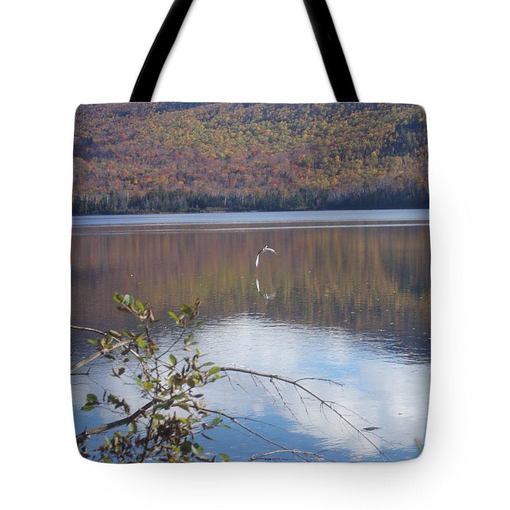Lakes Tote Bag featuring the photograph On My Way by Jeffery L Bowers